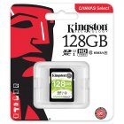 Kingston SDS Canvas Select SD Memory Card Storage Card green_128G