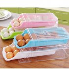 Kitchen Home Refrigerator Storage Plastic Drawer Type Egg Holder Box Container Dispenser Case