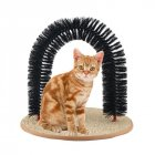 Kitty Cat Perch Scratcher Pet Toy Self-Groomer and Massager Catnip Cat Grooming