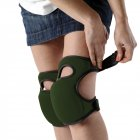 Knee Pads Home Knee Pads for Gardening Cleaning, Adjustable Straps Knee Pads green