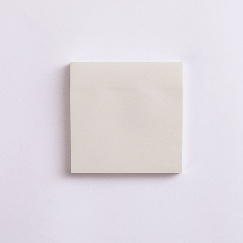 Kraft  Paper  Sticky Note  Square  Tearable  N-time   Sticky Note  Student Supplies Quartet small notes-off white blank
