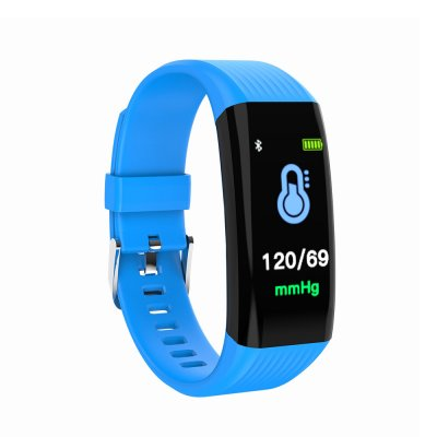 L2B38-B06 Sports Wristband Smart Band Blue