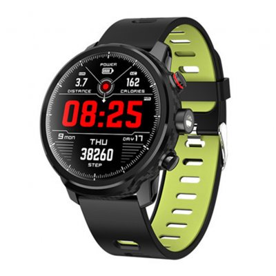 L5 Smart Watch IP68 Waterproof Multiple Sports Mode Heart Rate Monitoring Weather Forecast Smartwatch green