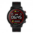 L5 Smart Watch IP68 Waterproof Multiple Sports Mode Heart Rate Monitoring Weather Forecast Smartwatch full black