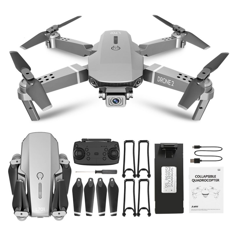 L701 Remote Control Drone Wide Angle 4K 720P 1080P HD Camera Quadcopter Foldable WiFi FPV Four-axis Altitude Hold VS E68 720P_Storage bag
