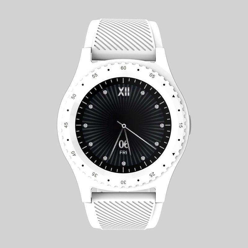 L9 Multi-functional Sport Smart Watch Information Reminder Support SIM TF Card  white