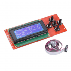 LCD2004 Module Screen Controller Control Panel 3D Printer Kit Parts RAMPS 1.4 for Anet LCD2004 LCD Blue Screen