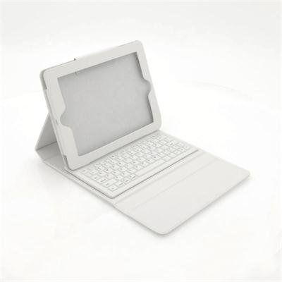 White Keyboard Case for iPad