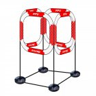 LDARC RC Drone FPV Racing Gate Flying Crossing Door 780mm With Base Red and white