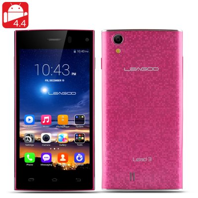 LEAGOO Lead 3 Smartphone (Red)