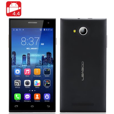 LEAGOO Lead 5 Android 4.4 Smartphone (Black)