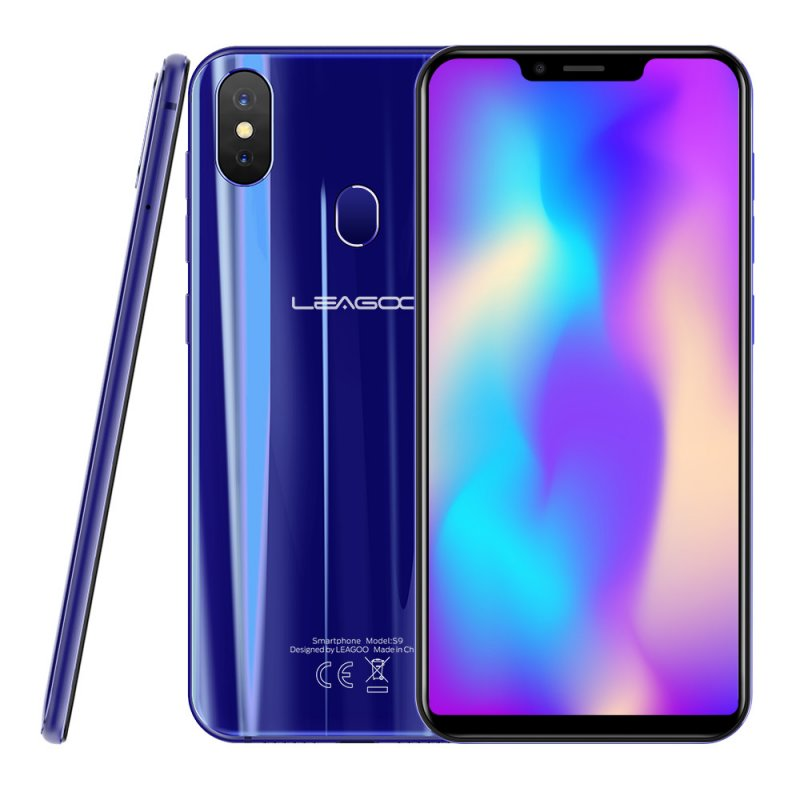 LEAGOO S9 5.85 Inch Mobile Phone Blue