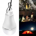 LED 5W USB 5V Camping Bulb Emergency Light for Outdoor Lighting Warm light 3000K