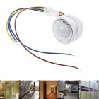 LED Adjustable PIR Detector Infrared Motion Sensor Switch 85 265V