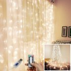 LED Curtain Garland Window USB Remote Control String LightsChristmas Decorations for Home Room