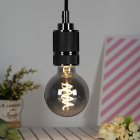 LED Dimmable Retro Edison Bulb E27 Single Spiral Filament Lamp for Resturant Decor