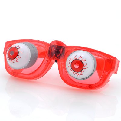 LED Flashing Halloween Glasses (R)