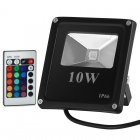 LED Flood Light 10W Multicolor w/ Remote