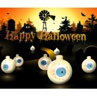 LED Halloween Decorative Double-sided Ghost Eyes String Light Home Party Decor