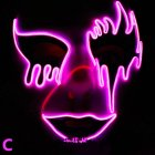 LED Halloween Series Glowing Mask Scary Cosplay Prop