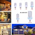 LED Highlight Spiral Corn Bulb 85 265V E27 Warm Light