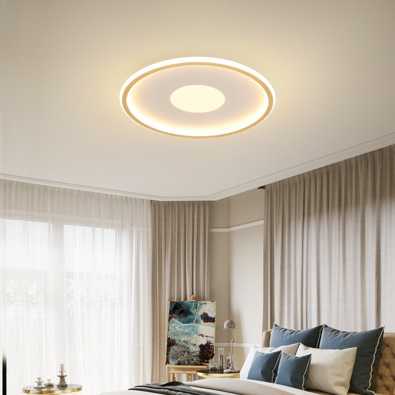Wholesale LED Modern Round Ceiling Lights For Bedroom Living Room Decorative Lighting White Light From China