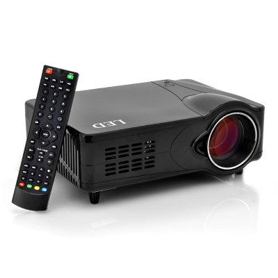 LED Multimedia Projector w/ 1000:1, 800x600