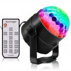 LED Party Lights RGB Sound Activated Lamp Karaoke Machine Strobe Dance Light Disco DJ Ball Lights