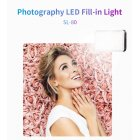 LED Photography Photo Fill Light Makeup Camera 2 Color Temperature Shooting black