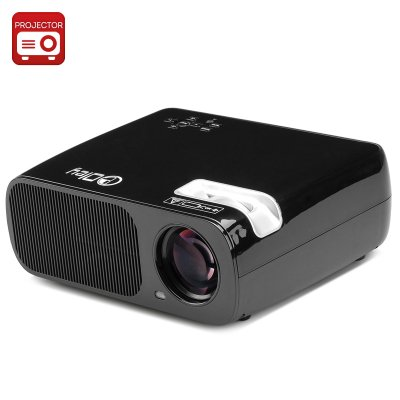 LED Projector 'Saturn' (Black)