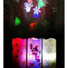LED Snowman/Snowflower Christmas Projection Lamp Decoratins for Home Xmas Gifts Ornaments New Year snowman