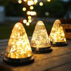 LED Solar Light Outdoor Waterproof Christmas Garden Decoration Hanging Lamp