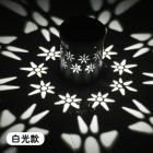 LED Solar Power Iron Lamp Hollow Out Porable Decorative Yard Garden Hanging Light White light 6000k