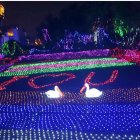 LED String Light Christmas Net Lamp with 8 Modes for Party Garden Decoration color
