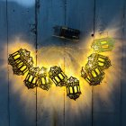 LED String Light Indoor Outdoor Lamp LED String Home Holiday Decoration for Ramadan Eid Party Decor Warm White
