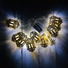 LED String Light Indoor Outdoor Lamp LED String Home Holiday Decoration for Ramadan Eid Party Decor White