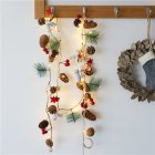 LED String Light Pine Cone Copper Wire Fairy Lamp for Christmas Home Wedding Party