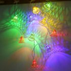 LED String Lights Battery Powered Lights Outdoor Decoration for Holiday Wedding Christmas Halloween colors