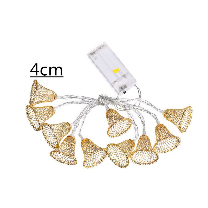 LED String Lights Battery Powered Lights Outdoor Decoration for Holiday Wedding Christmas Halloween Warm White