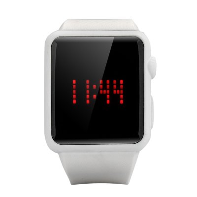 Cool LED Touch Watch (White)