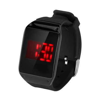 LED Touch Watch With One Key Control