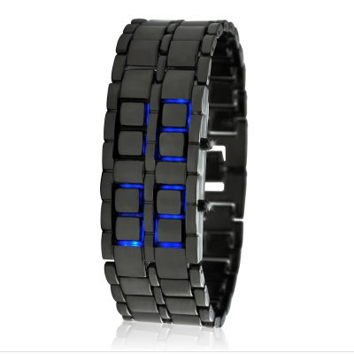 Blue LED Watch - Ice Samurai