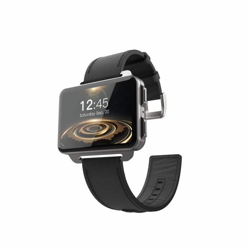 Original LEMFO LEM4 Pro 3G Smart Watch, Black