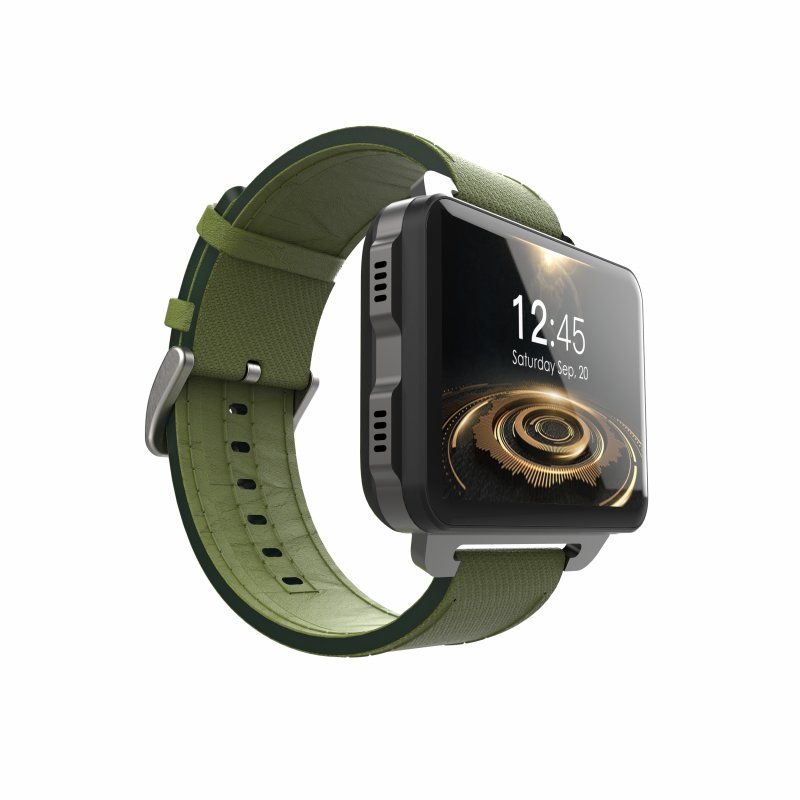 LEMFO LEM4 Pro 3G Smart Watch, Green