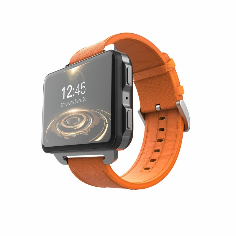 Original LEMFO LEM4 Pro 3G Smart Watch, Orange