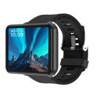 Original LEMFO LEMT 4G Smart Watch 2.8 Inch Big Screen 2700MAH 5 Million Pixels GPS Call Watch Black (1+16G)