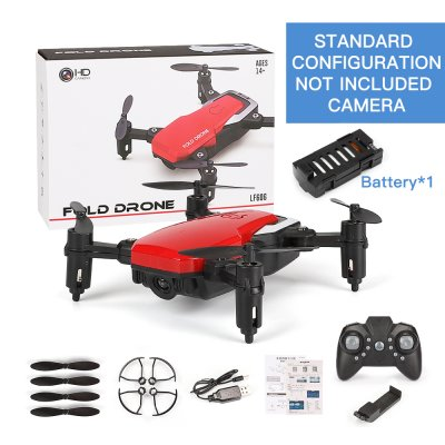 LF606 Mini Drone without camera - Red
