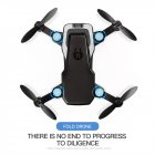 LF606 Mini Drone with 2.0 MP Camera - Black