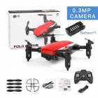 LF606 Mini Drone with Camera Altitude Hold RC Drones with Camera HD Wifi FPV Quadcopter Dron RC Helicopter VS Z1, JDRC JD-16, HDRC D2, SM M1 0.3MP camera WiFi red
