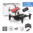 LF606 Mini Drone with Camera Altitude Hold RC Drones with Camera HD Wifi FPV Quadcopter Dron RC Helicopter VS Z1, JDRC JD-16, HDRC D2, SM M1 0.3MP camera WiFi black